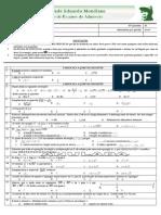 Exame de admissão a UEM Matematica 2010
