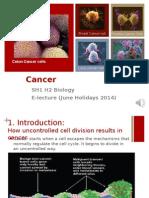 Cancer E-lecture 2014 Part 1