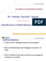 Introduction to Global Business Management-1