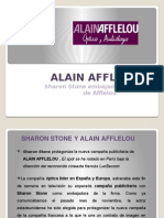 Sharon Stone y Alain Afflelou