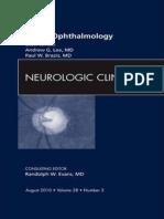 Neuro Ophthalmology an Issue of Neurologic Clinics the Clinics Internal Medicine