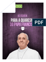 Mensagem Quaresma 2015