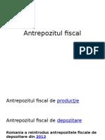 Antrepozitul Fiscal
