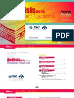 Revista Análisis de la Realidad Nacional