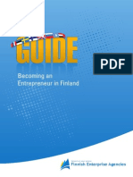 GUIDE Becoming an Entrepreneur in Finland