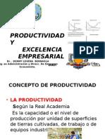 Concepto de Productividad