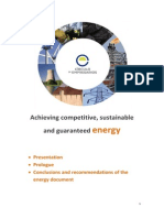 Achieving Competitive Sustainable and Guaranteed Energy