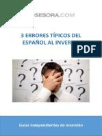3 Errores Típicos Del Español Al Invertir