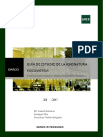 Guia Psicometria 2014 2015 uned