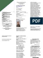2015 PSRANM Conference Registration
