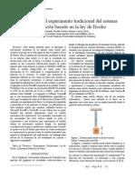Una revisión al experimento tradicional del sistema masa resorte basado en la ley de Hooke