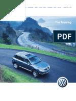 T2 VW Touareg Brochure
