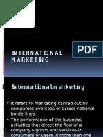 International Marketing 1