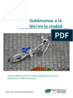 Subámonos a La Bici - ÁMBITO MUCICPAL