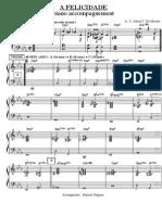 A Felicidade/piano comping