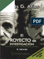 El Proyecto de Investigacion - Fidias Arias - 2012 - 6a Edicion
