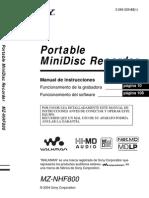 Manual NHF800