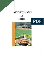 Tartes Et Salades de Sophie Dudemaine