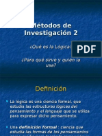 Métodos de Investigación 2