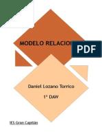 Modelo Relacional - Ejercicio 8