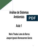 Aula 01 Analise de Sistemas 2013