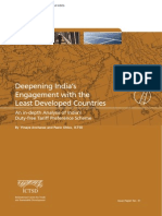 Deepening India's Engagement with the LDCs