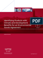 Identifying Products With Climate and Development Benefits for an Environmental Goods Agreement