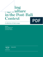 Tackling Agriculture in the Post-Bali Context