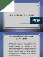 2.2 Ley General de Salud