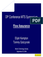 0. Flow Assurance
