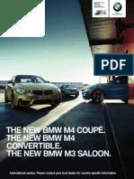 2014 BMW M3 M4 Catalogue