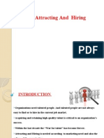 attracting and hiring talent