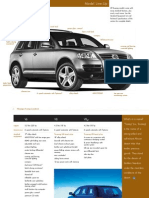 2004 Touareg Models and Options