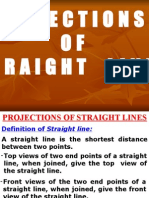 Projection of Straight Line Engineering108.Com