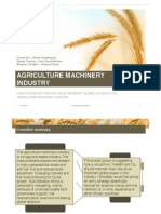 Agriculture Machinery Report