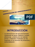 U3 ADMINISTRACIÓN DEL APROVISIONAMIENTO