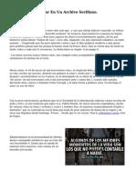 Tres Cartas De Amor En Un Archivo Sevillano.