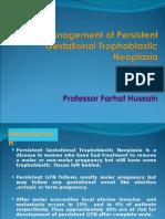 Managment of Persistent Trophoblastic Disease