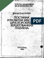 Branislav Djurdjev Postanak Crnogorskih Plemena
