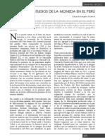 Los Estudios de La Moneda en El Peru