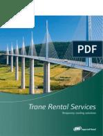 Trane Rental Service Brochure