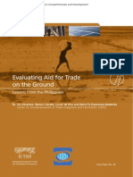 Evaluating Aid for Trade on the Ground