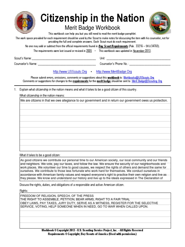 Citizenship In The World Worksheet Bsa llamadirectory – Citizenship in the World Worksheet