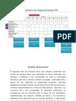 Plan de Inversión 2014