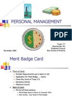 Personal Mngmt Class