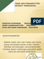 Kaitan Antara Neutransmitter Dengan Penyakit Parkinson
