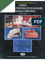 Manual de Ortopedia Funcional de Los Maxilares y Ortodoncia Interceptiva - J. Quirós 2