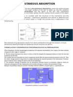 Note 2 Percutaneous Absorption