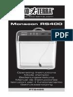 Monsoon RS400 EU Instruction Manual