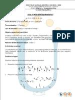Actividad 1 Algebra